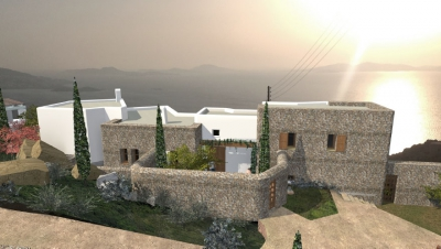 Private residence, Mykonos